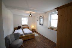 Ferienwohnung - Das erste Schlafzimmer